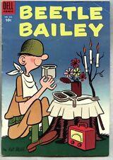 Four Color Comics #622-1955 fn- Beetle Bailey Mort Walker