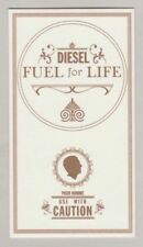 Carte  à parfumer - perfume card  -  Fuel For Life de Diesel