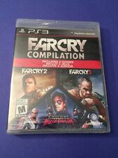 Far Cry Compilation *3 Far Cry Games in One Package* (PS3) NEW