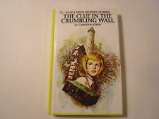 Nancy Drew #22, The Clue in the Crumbling Wall, Perma-bound