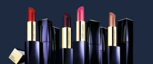 Estee Lauder Pure Color Crystal All Colors Lipstick In A Black Promo Casing