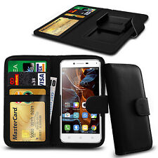 For Acer Liquid Glow E330 - Clamp Style PU Leather Wallet Case Cover