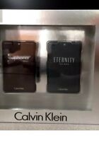 Calvin Klein Eternity & Euphoria For Men EDT .67 OZ Duo Travel Gift Set