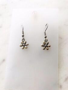 Daisy Flower Earrings Women Drop Hook