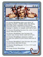 Unhinged ** 4x Greater Morphling x4 ** Mtg Magic (EX/SP)
