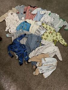 6 Months Baby Boy Pajamas Lot Of 16