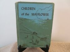 Children of the Mayflower  HC  1947  Mildred H. Comfort  Ex-Library