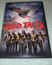 Red Tails (DVD,2012,Widescreen) Cuba Gooding Jr.,Terrence Howard