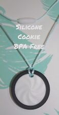 Sensory Necklace Pendant silicone jewellery (was teething ) cookie
