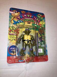 """1992 TMNT Ninja Turtles Toon Don Donatello 5"""" Figure Playmates 5406"""