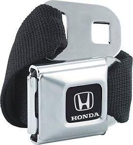 Authentic Black HONDA Logo Seat Belt Buckle Belt Buckle-Down for pants Seatbelt