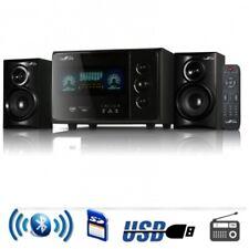 beFree Sound BFS45L 2.1 Channel Surround Sound Bluetooth Speaker System in Black