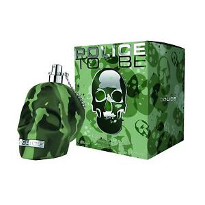 New Boxed Police To Be Camouflage 125ml EDT Aftershave Spray Men