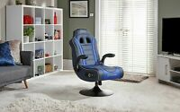 New other X-Rocker Adrenaline VII Gaming Chair - Blue-GBL134.