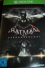 Batman: Arkham Knight, Limited Edition inkl. Batman Figur, XBOX One, NEU & OVP