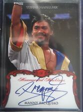 2011 Topps Marquee ON-CARD AUTOgraph * MANNY PACQUIAO * SP Boxing Champ 11 Topps