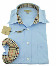 1b2c49b124a0 Burberry London Pale Blue Casual Dress Men s Shirt Size S Collection