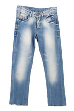 Vintage Diesel Industry Denim Division Jeans Faded 90s W32 L30 Ice Blue - J39...