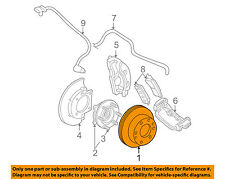 GM OEM Front Brake-Disc Rotor 19210603