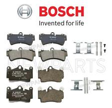 Rear & Front Disc Brake Pad Set+Hardware Kit For Porsche Cayenne GTS S 03-10