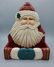 Wall Hanging Shelf Midwest importers of Cannon Falls Winter Wind Folk Arts Santa