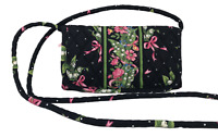 VERA BRADLEY Convertible Wallet with Strap  in New Hope Cancer Awareness Retired