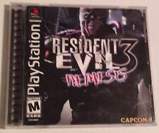 PlayStation Resident Evil 3 Nemesis complete and works great Good Condition