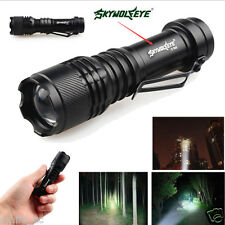 5000LM CREE Q5 AA/14500 3 Modalidades CON ZOOM linterna flash LED superbrillante