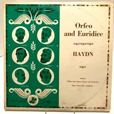 Haydn Orfeo & Euridice Vienna State Opera Orch Swarowsky Opera Society LP
