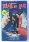 Rare OOP VHS Horror Movie - Terror on Tape