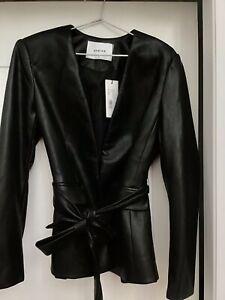 Sheike NWT 'Gotham' Leather look jacket, Sz 12