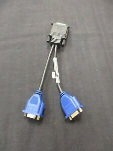 Molex E52534-D Used Dual 2 VGA Splitter Adapter Cable