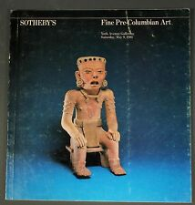 Sothebys Fine Pre-Columbian Art Ny May 1981 with prices