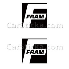 "2 of 5"" Fram Filters /A aftermarket performance vinyl stickers decals die cut"