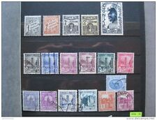timbres Tunisie RF : 1930 - 1940