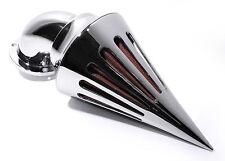 Filtre à air Kit Performance Spike Rocket Chrome Pour Harley Davidson Twin Cam 99 -