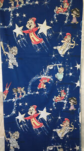 Vintage Alvin & The Chipmunks Chipettes  Star Constellation Flat Twin Bed Sheet