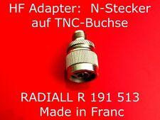 HF - & coaxial connecteur adaptateur N-mâle/femelle effectuée UHF femelle/effectuée-Connecteur
