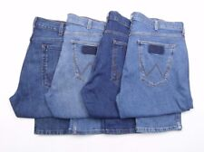 Mens Wrangler Greensboro stretch straight fit jeans RRP£75 FACTORY SECONDS WA121