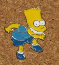 """A33  VINTAGE PIN BART SIMPSON THE SIMPSONS WALKING SLOWLY 1"""""""