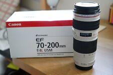 Canon EF 70-200mm F4L USM Boxed Fantastic condition.