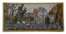 BLACK SABBATH - 1st Album - Large Woven Patch Rare LTD.35 Ozzy Metal Gold