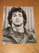 RAR! Rambo SYLVESTER STALLONE Originalautogramm GROSSFOTO!