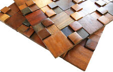 Wood Wall Tiles, Wall Panels, Wall Covering Panels, Mosaic Tiles, Elegant Decor