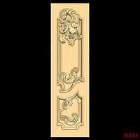 (254) STL Model Door for CNC Router 3D Printer  Artcam Aspire Bas Relief