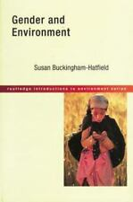 Gender and Environment (Routledge Introductions to Environment: Environment and