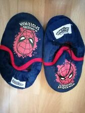 Boys Sized 11 Spiderman Slippers