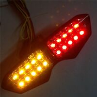 For Brake Tail lights For YZFR6 R6 2003-2005 YZF-R6S R6S 2006-2008 Smoke LED
