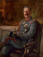 ART PRINT POSTER PAINTINGS PORTRAIT KAISER WILHELM II GERMAN EMPEROR NOFL0955