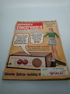 Elementary Electronics Speaker-Fone/ Astronaut Infor and Photos July/August 1969